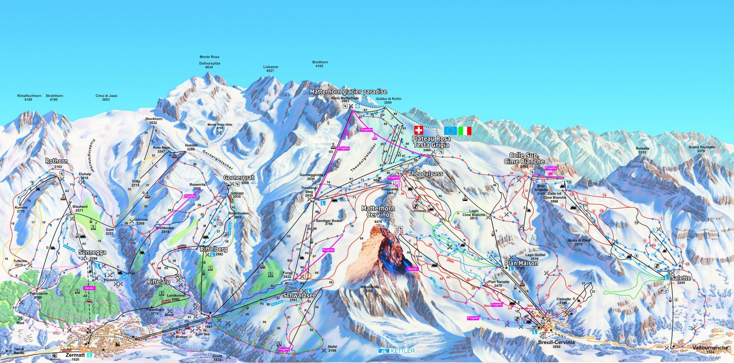 Cervinia/Zermatt