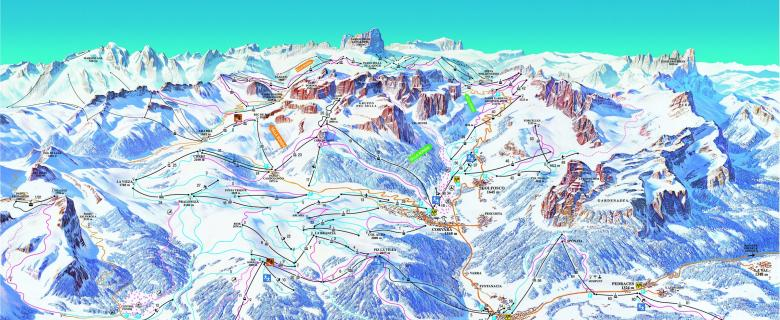 Lyžařské zájezdy Alta Badia