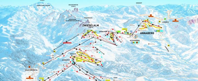 Lyžování Dachstein West