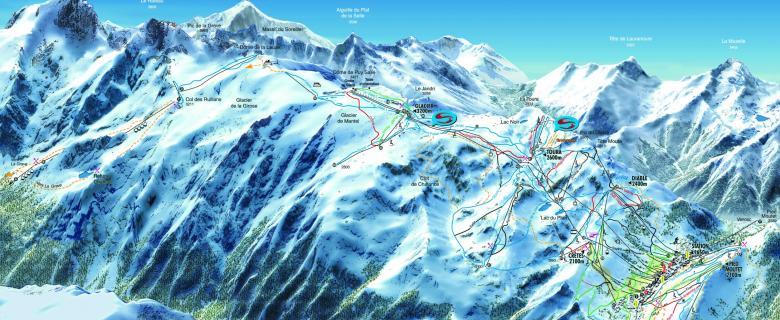 Lyžování Les 2 Alpes