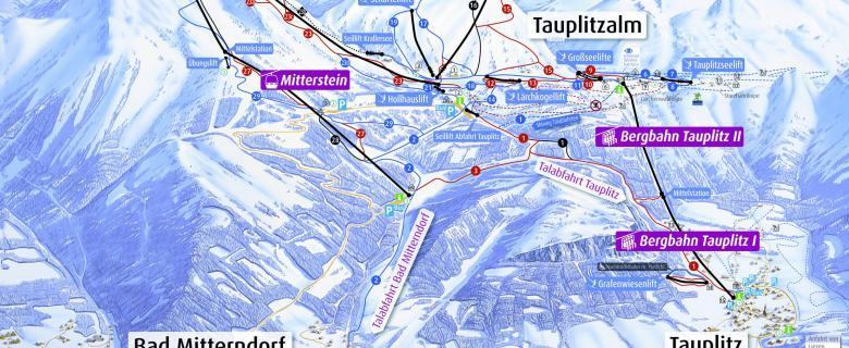 Lyžování Tauplitz