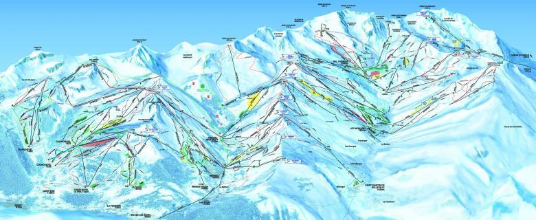 Tři údolí (Trois Vallées)