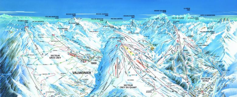 Lyžování Valmeinier / Valloire