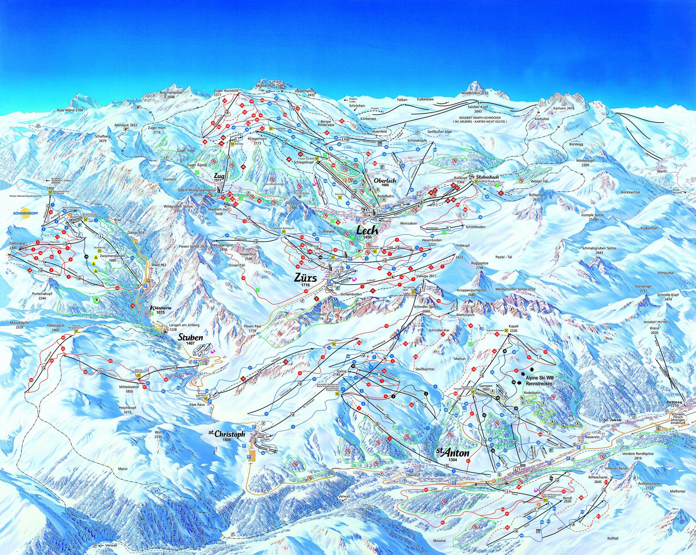 Ski Arlberg - St. Anton / Zürs / Lech